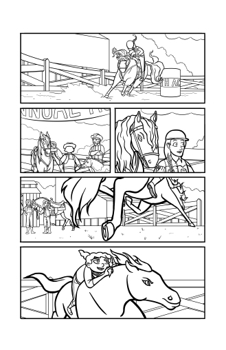 A page from Horse Power G Issue 2