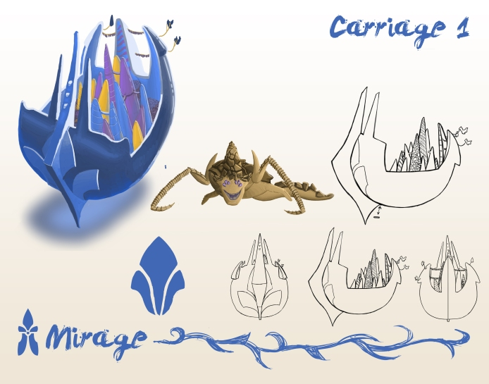 Mirage: The city sized caravan for the mages' guild.