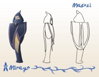 Mirage: Main antagonist, Masozi.