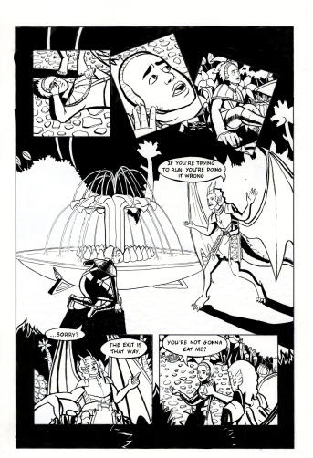 Toxic Necropolis Inks Page 3