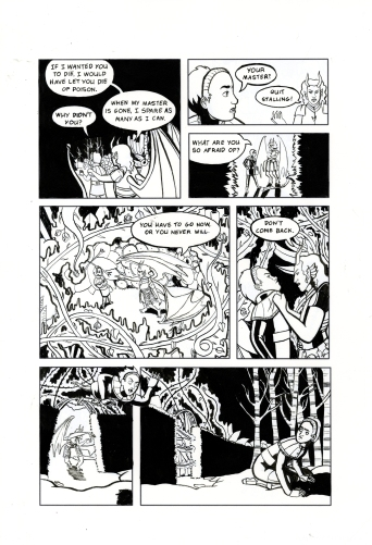 Toxic Necropolis Inks Page 4