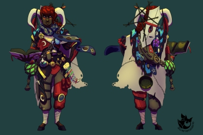 Pyre: Reader character design
