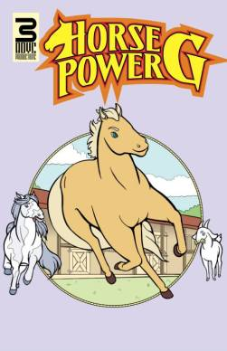 Horse Power G issue 1 Cover, Colored by Gary Scott Beatty