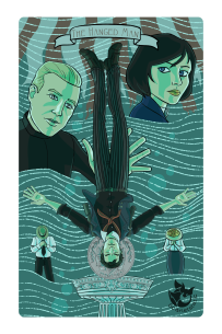 Bioshock: Booker as the Hanged Man.