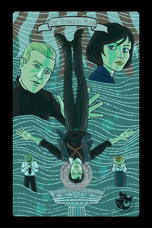 Bioshock: Booker as the Hanged Man.