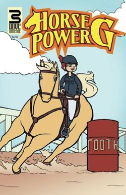 Horse Power G Issue 2 Cover, colored by Gary Scott Beatty