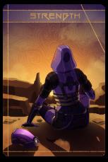 Mass Effect: Tali as Strength.