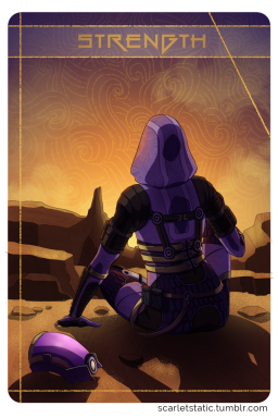 Mass Effect: Tali as Strength.