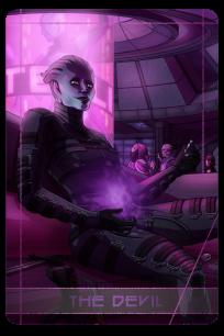 Mass Effect: Morinth as the Devil.
