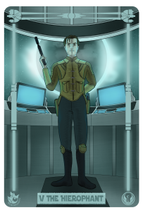 Star Wars: Carth as the Hierophant.
