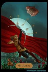 Dragon Age: Sera as Justice.