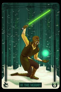 Star Wars: Jolee Bindo as the Hermit.