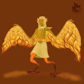 Silmarillion: Arien, Maia who carries the sun.