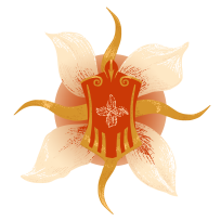 A crest for young Leliana