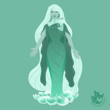 Silmarillion: Uinen, lady of the sea.