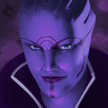 Mass Effect: Aria T'loak