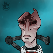 Portrait of Mordin