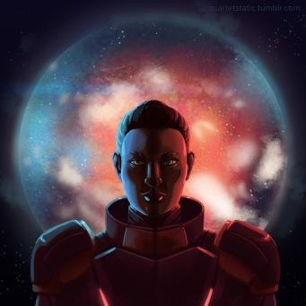 Mass Effect: Scarlet Shepard