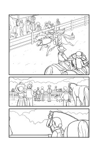 Horse Power G page inks