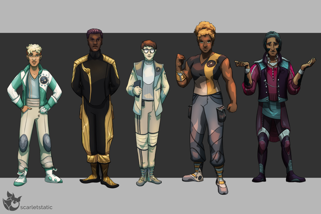 Counterweight Character Lineup