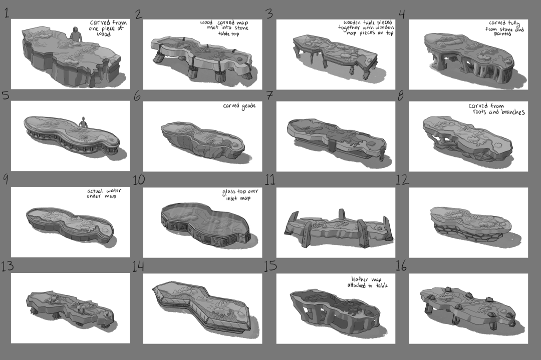 ISF WarTable Sketches