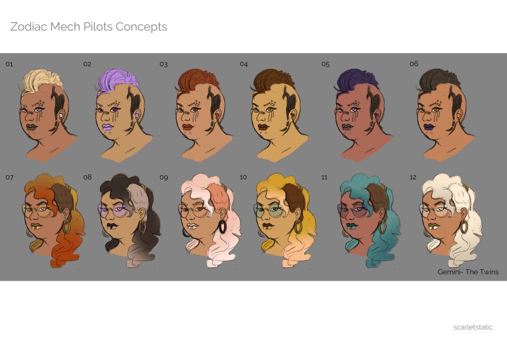 ZMC-Gemini Face Colors