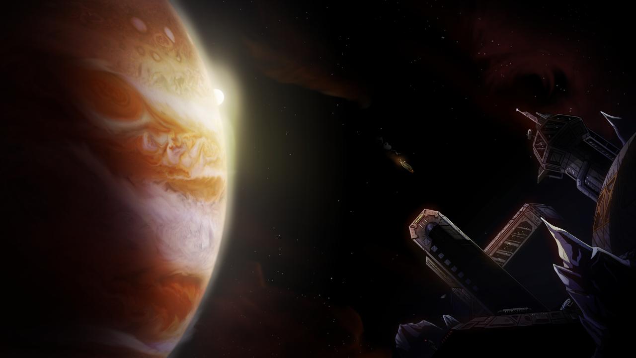 Jupiter Hell Trailer Background